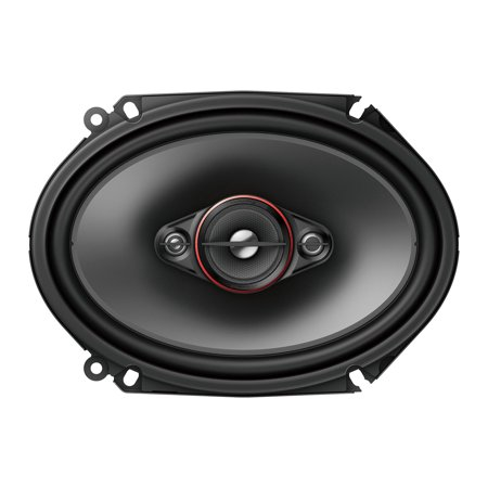 "Pioneer TS-800M, 6"" x 8"" 4-way coaxial speakers, 350W max power"