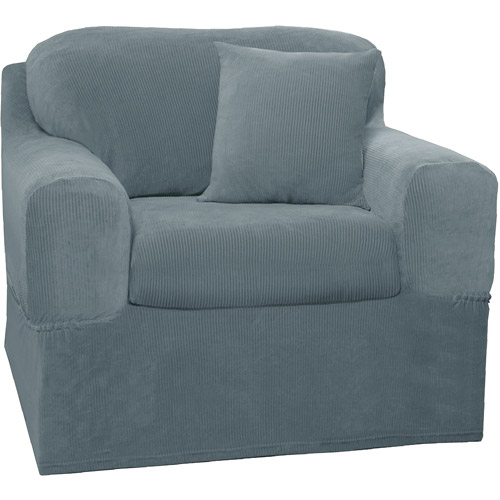 Maytex Stretch Collin 2 Piece Armchair Furniture Cover Slipcover