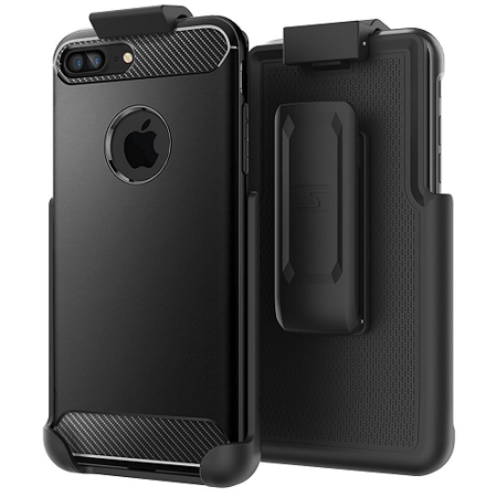 super popular a6330 f2b23 Belt Clip Holster for Spigen Rugged Armor - iPhone 8 Plus 5.5