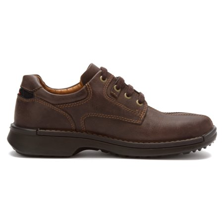 Ecco Fusion Casual Oxford Shoe - Coffee - Ecco Oxford Shoes