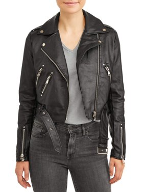 a6e0850535d65c Product Image Women s Faux Leather Moto Jacket