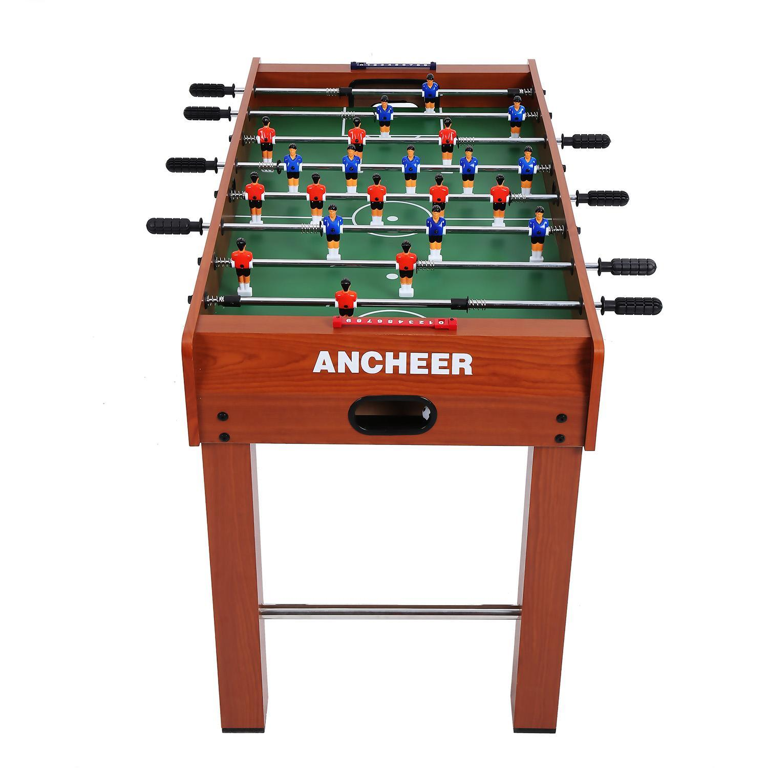 KORGOL Foosball Tables Soccer Table Competition Sized Arcade Game Room Table  Games Sport Hockey Family