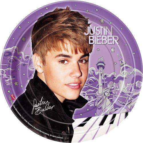 Justin Bieber New Small Paper Plates (8ct)