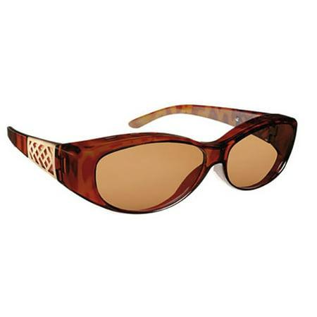 Solar Shield Unisex Tort Polarized Driving SolarShield Sunglasses (Tort Sunglasses)