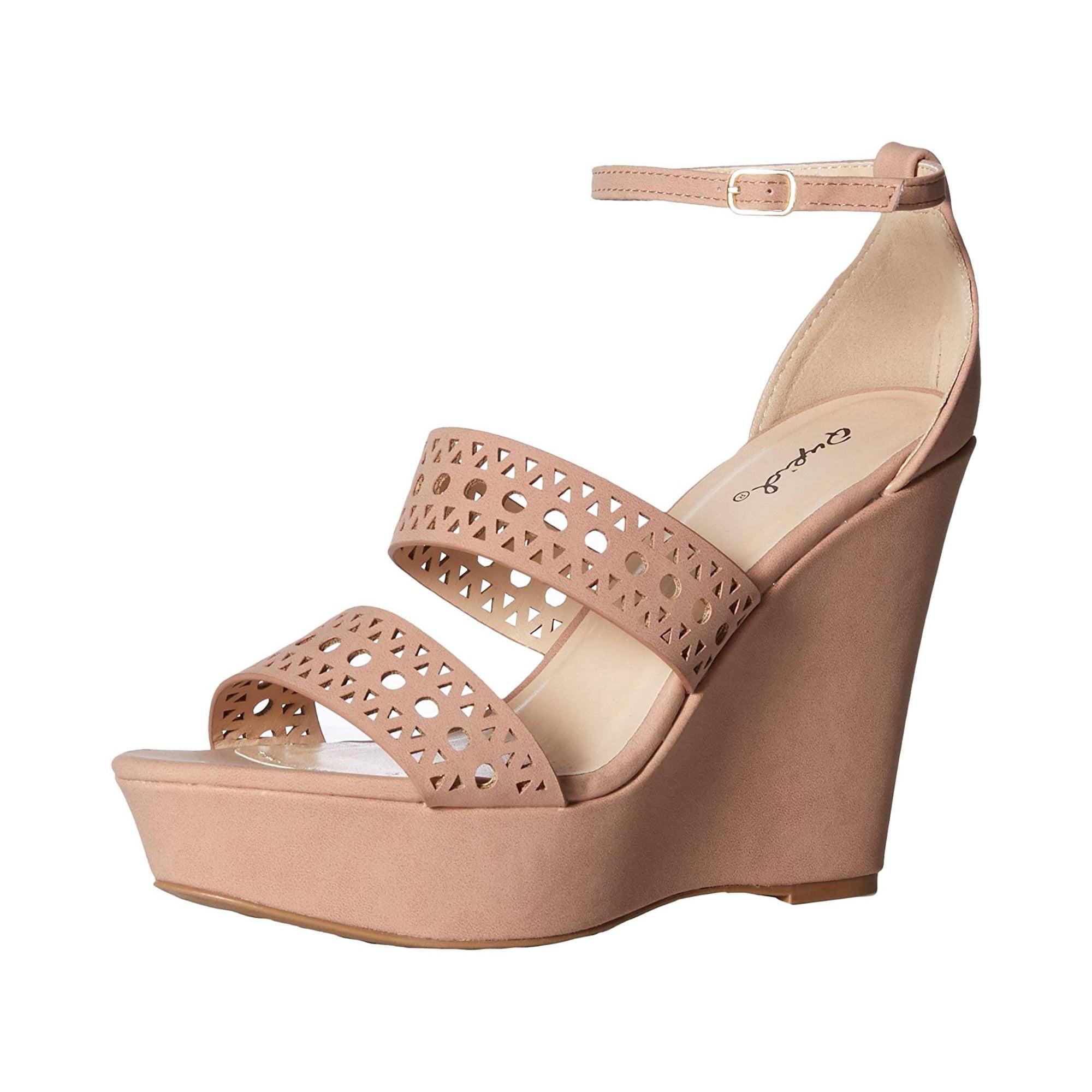 1a0772fce4e Qupid Women's Espadrille Wedge Sandal | Walmart Canada