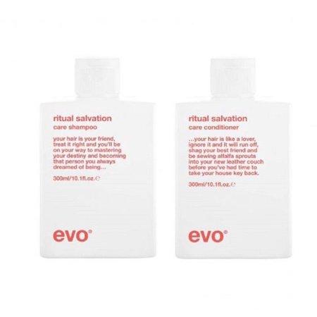 Evo Ritual Salvation Duo Shampoo 300 ml  & Conditioner 300 ml