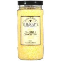 Village Naturals Therapy: Allergy & Congestion Mineral Bath Soak 20 oz