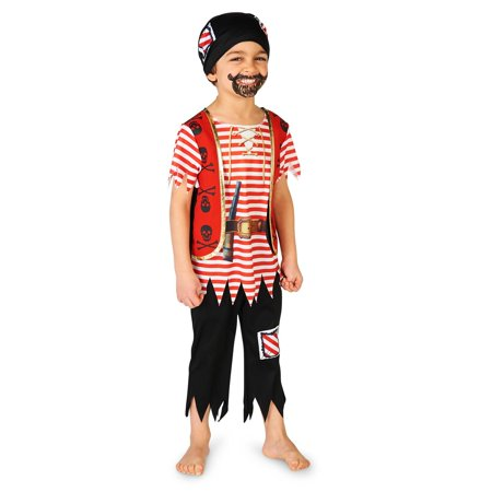 Printed Pirate Matey Toddler Costume](Pirate Ideas For Toddlers)