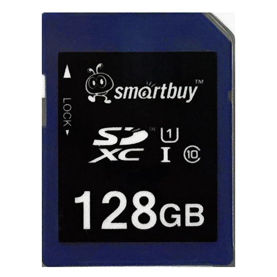 Smartbuy 128GB SD XC Class 10 Memory Card SDXC C10 Ultra U1 UHS-I HD Fast Speed for Camera