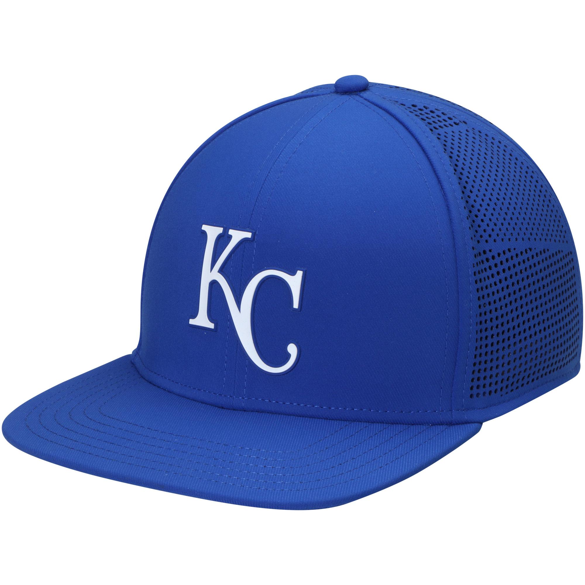 Kansas City Royals Under Armour Supervent Snapback Adjustable Hat - Royal - OSFA
