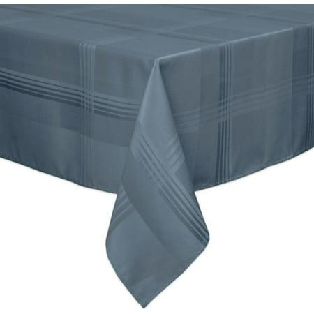 Origins Ericson Plaid 60-Inch x 84-Inch Oblong Tablecloth in Denim