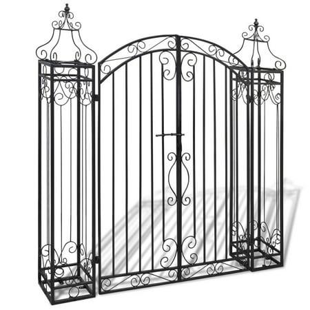 Ornamental Garden Gate Wrought Iron 4'x8