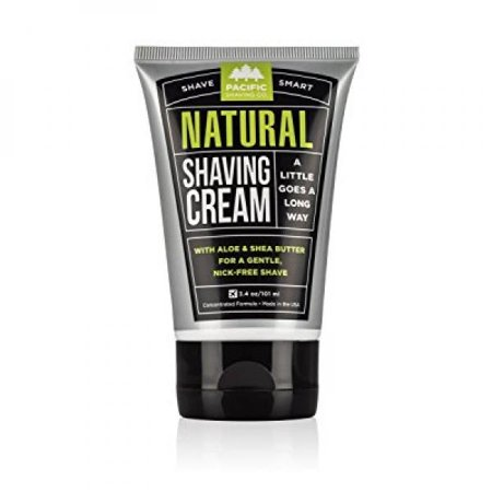 Pacific Shaving Company Natural Shaving Cream, 3.4 (Shave 3.4 Ounce)