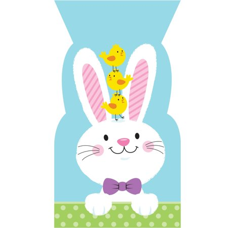 Creative Converting Easter Bunny Favor Bags, 20
