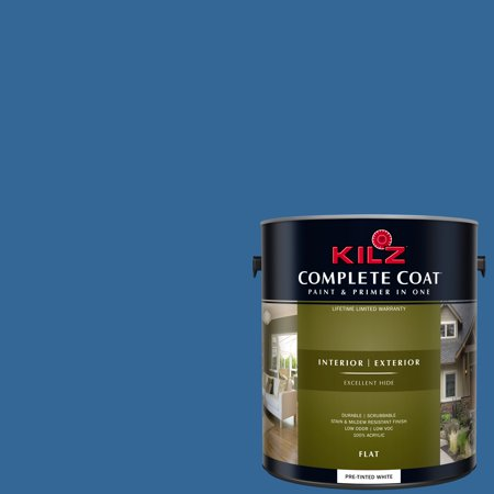 KILZ COMPLETE COAT Interior/Exterior Paint & Primer in One #RH200 Beyond The Sea