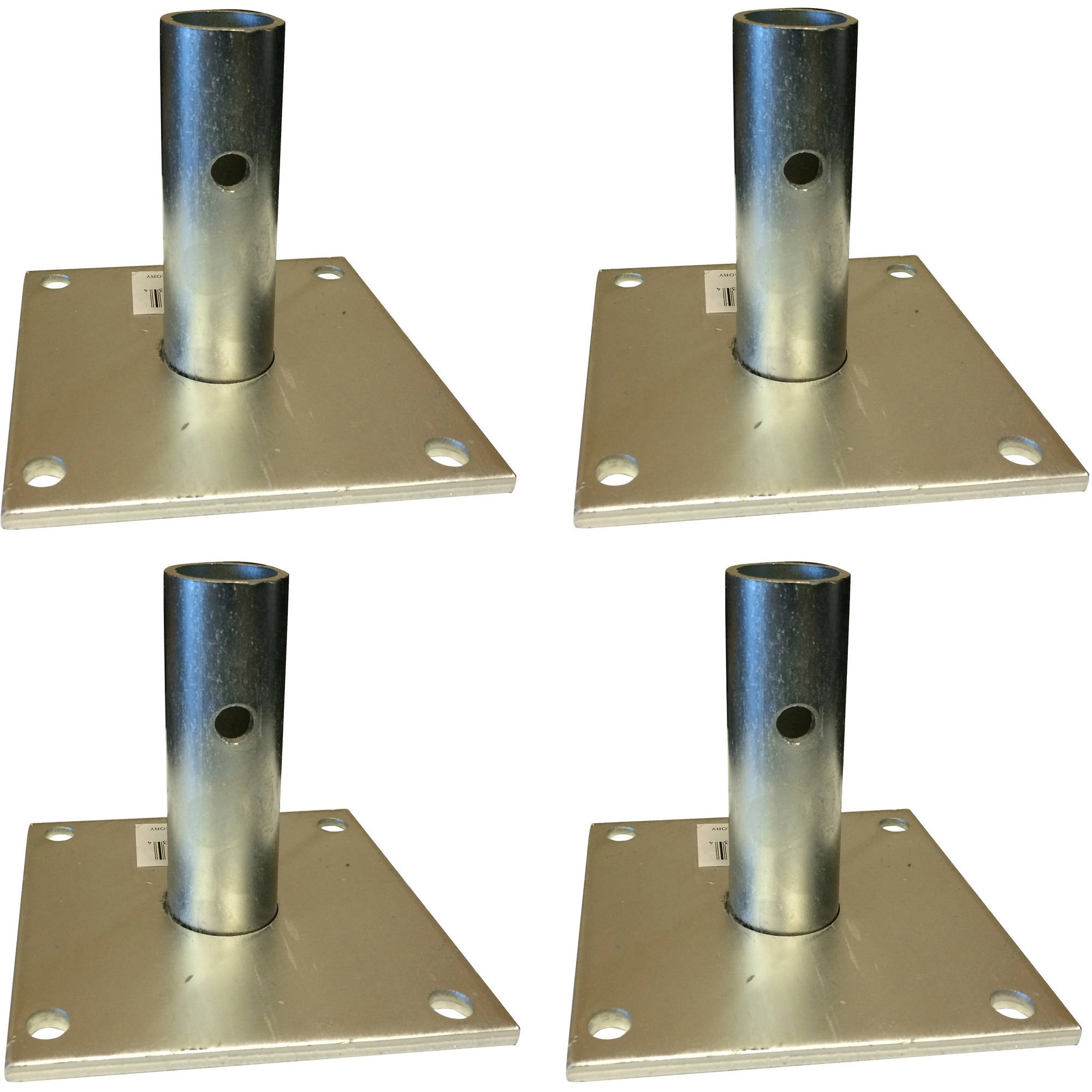 Pro-Series Scaffold Base Plate Set, 4-Piece