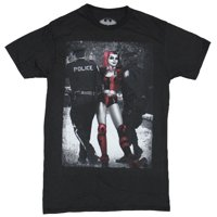 5aacd59a96402 Product Image Harley Quinn (DC Comics) Mens T-Shirt - Harley Dealing with  the Police