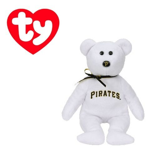 Pittsburgh Pirates MLB Beanie Baby - Teddy Bear by TY (41707)