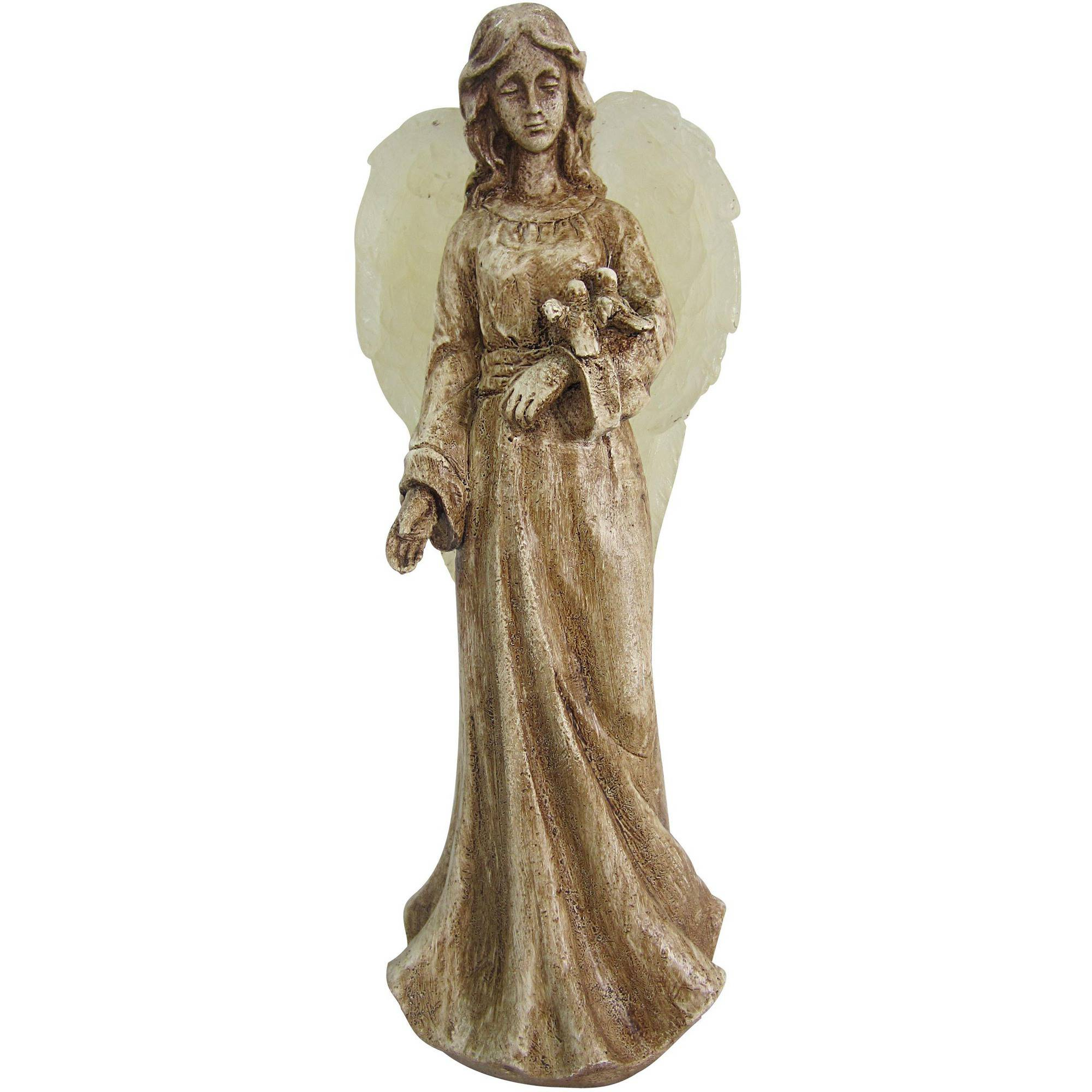 Mainstays Solar Angel Garden Ornament