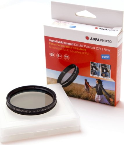 AGFA Digital Multi-Coated Circular Polarizing (CPL) Filter 55mm APCPF55 by Agfa