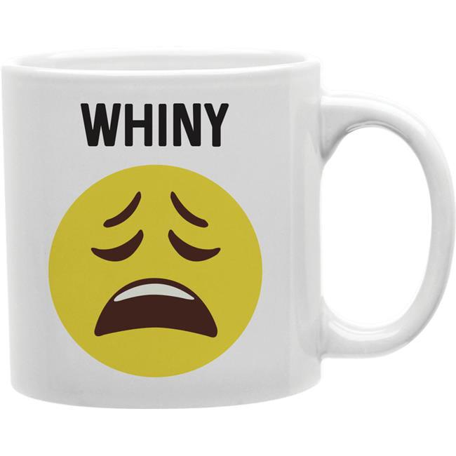 Imaginarium Goods CMG11-IGC-WHINY Whiny - Whiny Worded Emoji Mug - image 1 de 1