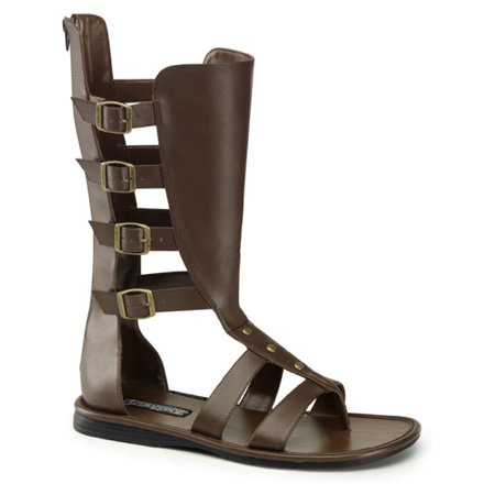 MENS SIZING Gladiator Costume Boots Open Toe Sandal Style Shoes for $<!---->