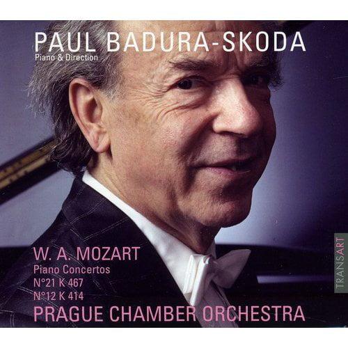 Paul Badura-Skoda - Mozart: Piano Concertos Nos. 21 & 12 [CD]