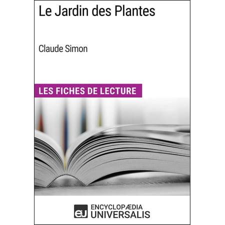 Le Jardin des Plantes de Claude Simon - eBook