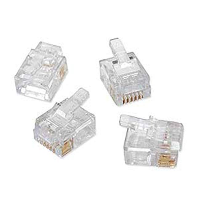 50Pcs Ez-RJ11/12 Connectors - image 1 of 1