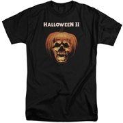 Halloween II Pumpkin Shell Mens Big and Tall Shirt