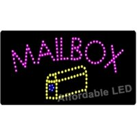Affordable LED L1001 12 H x 24 L in. Mailbox LED Sign
