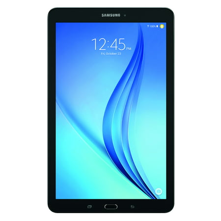 "SAMSUNG Galaxy Tab E 9.6"" 16GB Android 5.1 WiFi Tablet Black - Micro SD Card Slot - SM-T560NZKUXAR"