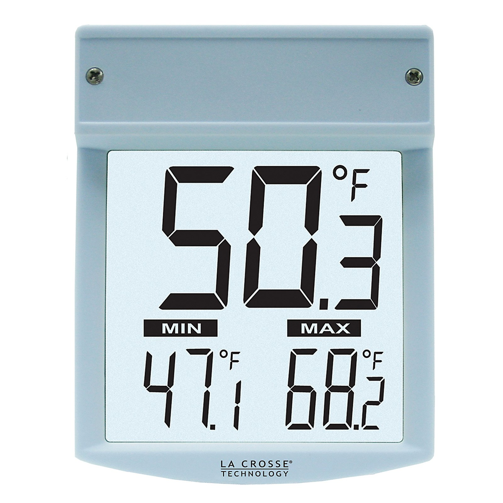 LaCrosse Technology Window Thermometer - White