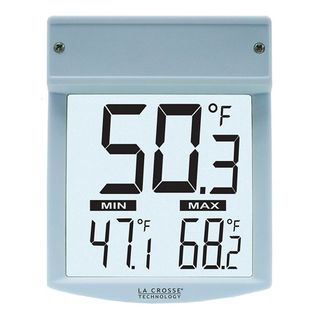 Lacrosse Technology Window Thermometer White