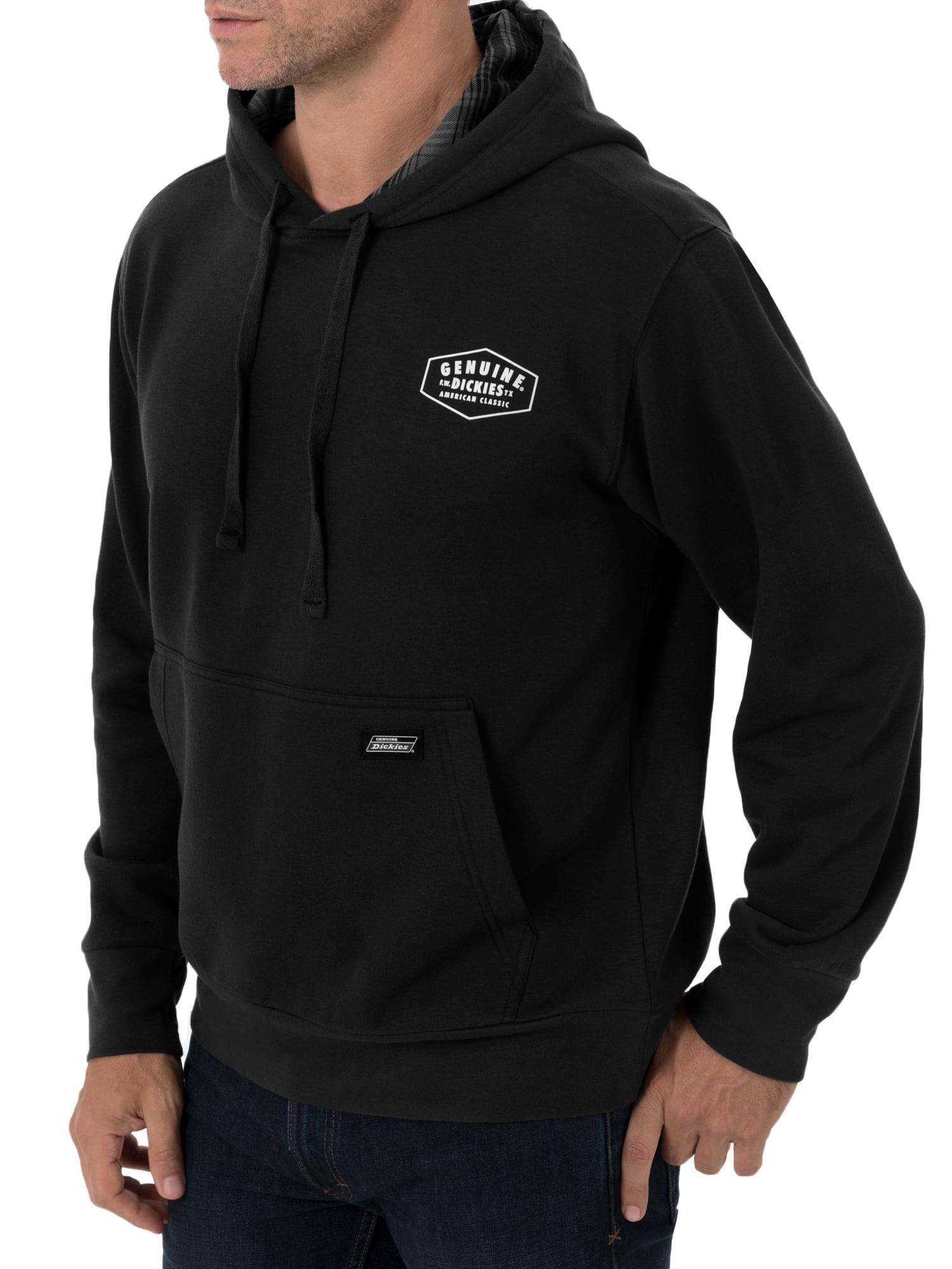 89d406f01 Dickies - Dickies Men s Fleece Pullover with Flannel Lined Hoodie ...
