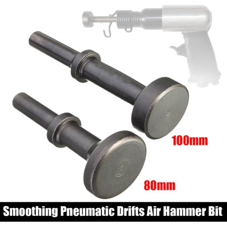 80mm*35mm/100mm*30mm Smoothing Pneumatic Drifts Air Hammer Bit Set Extended Length Tool Brick Hammer Wide Bit