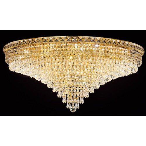 Elegant Lighting Tranquil 21 Light Semi Flush Mount