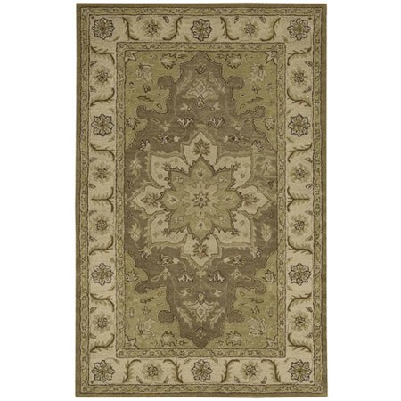 Nourison India House IH66 Persian Area Rug - Olive