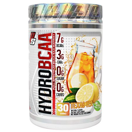 - Pro Supps, HydroBCAA Texas Tea 30 Servings (15.3oz)