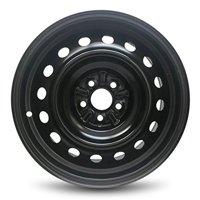 "Road Ready Replacement 16"" Black Steel Wheel Rim For 2009-2015 Toyota Corolla 5 Lug 3.94"""