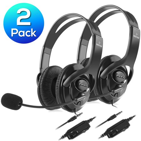 Inset Headset (Insten 2x Wired Gaming Headset for PS4 Headphone with)