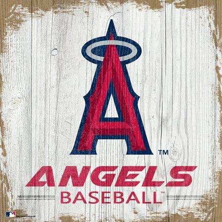 Los Angeles Angels 6'' x 6'' Team Logo Block