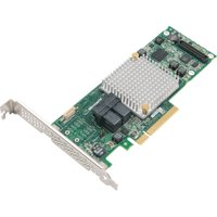 Microsemi Adaptec Series 8 RAID Adapters (Cables not included with product) - 12Gb/s SAS - PCI Express 3.0 x8 - Plug-in Card - RAID Supported - 0, 1, 1E, 5, 6, 10, 50, 60 RAID Level - 8 Total SAS Port