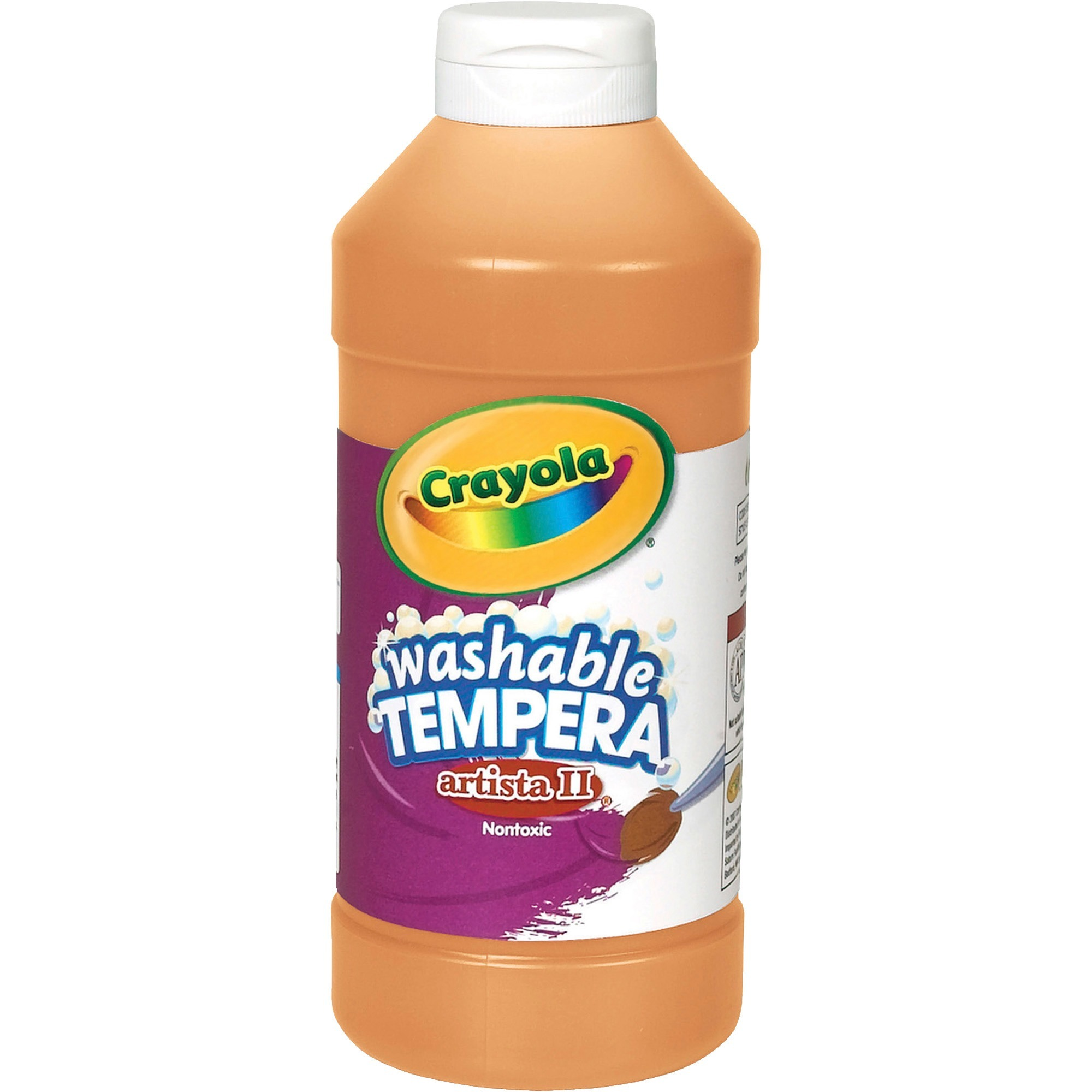 Crayola LLC Artista Ii Washable Tempera Paint, 16 Oz (Set of 2)