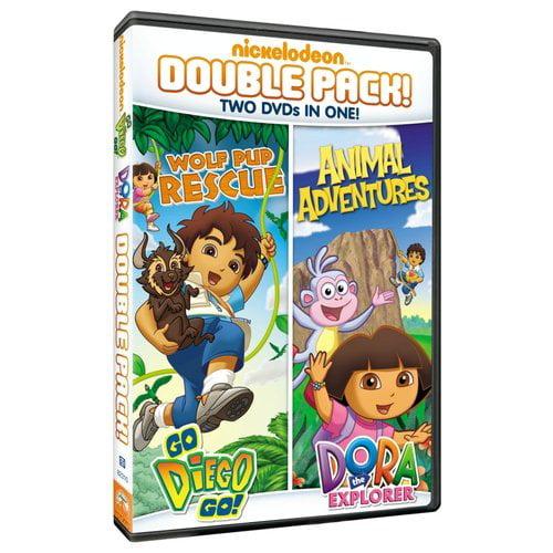 Dora The Explorer: Animal Adventures / Go Diego Go!: Wolf Pup Rescue (Full Frame)