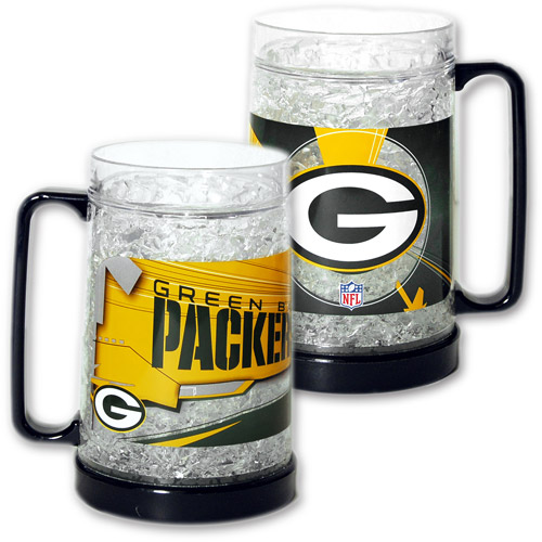 NFL Green Bay Packers Crystal Freezer Mug