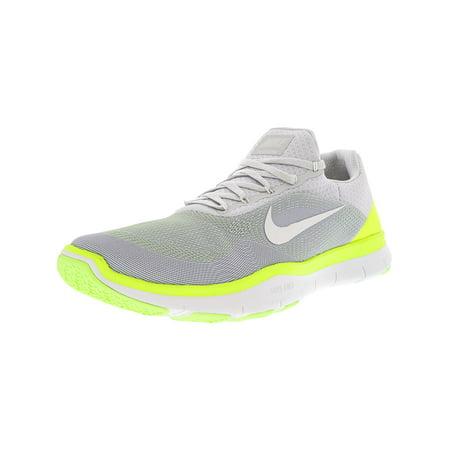 Nike Men s Free Trainer V7 Pure Platinum   White-Sail Ankle-High Running  Shoe - 15M - Walmart.com 4231ba9f0