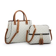 POPPY 2PCS Handbag Set Top Handel Tote Satchel