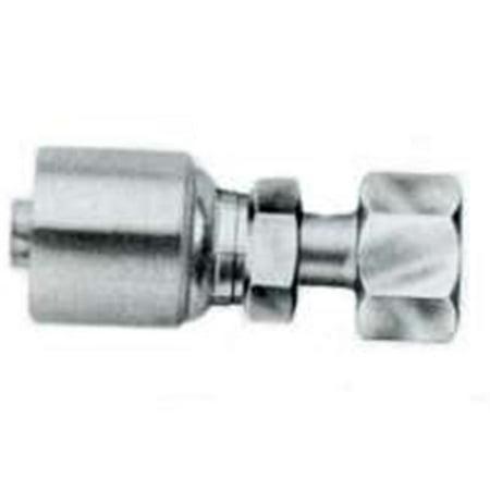 Gates G252300608 6 Gallon - 8Fforx Hydraulic Hose Fitting - image 1 de 1