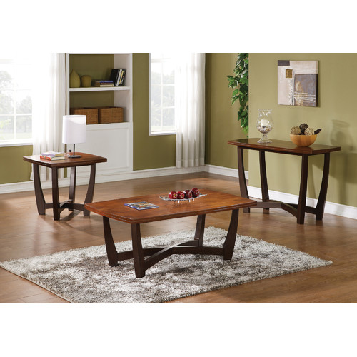 Brady Furniture Industries Pilsen 3 Piece Coffee Table Set